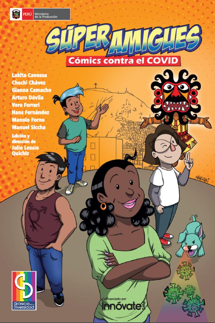 Libro de cómics LGTB